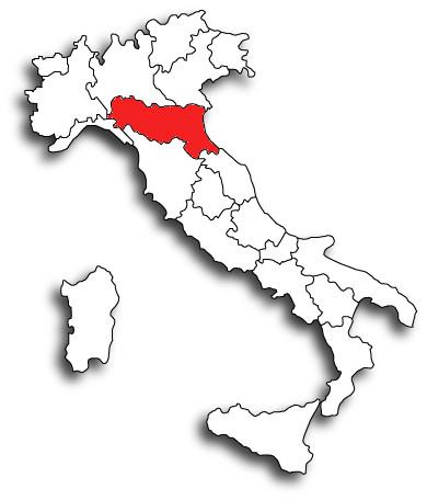 Cartina Italia Emilia Romagna.Emilia Romagna Istituto Centrale Per I Beni Sonori Ed